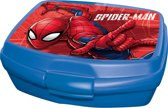 Marvel Broodtrommel Spider-man 16 Cm Blauw