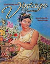 Adult Coloring Books Vintage Women