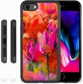 Grip case hoesje iPhone 7   8 Tulips