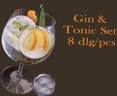 Gin en Tonic set (8 delig)