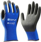 Glove On Touch Pro Blauw Werkhandschoenen - Maat L - Nitril Handschoenen
