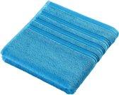 De Witte Lietaer Dolce Handdoek Katoen algiers-blue 60x110