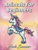 Animals for Beginners Coloring Book - Jade Summer