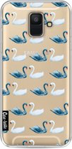 Casetastic Softcover Samsung Galaxy A6 (2018) - Swan Party