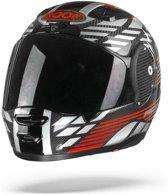 ROOF RO200 CARBON SPEEDER Motorhelm Rood/Zilver - Full Face - Integraalhelm - Maat M