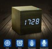 Digitale Kubus Klok - Met Alarm, datum en temperatuur functie | Pride Kings®
