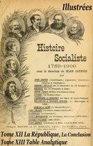 Histoire socialiste de la France contemporaine Tome XII et XIII