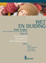 Boekomslag van 'Kids-codex -Tweede herwerkte editie - Wet & Duiding Kids-Codex Boek III'