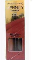 Max Factor 2steps Lipstick - Lipfinity 380