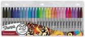Sharpie Fine markeerstift 28 stuks Multi kleuren Fijne punt