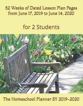 The Homeschool Planner SY 2019-2020 for 2 Students
