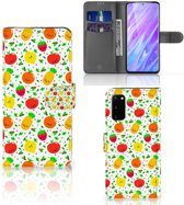 Samsung Galaxy S20 Book Cover Fruits