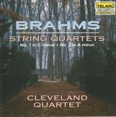 Brahms: String Quartets no 1 & 2 / Cleveland Quartet