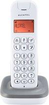 Alcatel D185 - Single DECT telefoon - Grijs/Wit