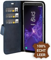 Valenta Blauw Booklet Classic Luxe Samsung Galaxy S9