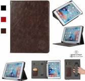 Apple iPad Air Business Organizer Bruin smartcover met handvat, hoesjes Apple iPad
