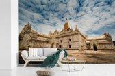 Fotobehang vinyl - Onderaanzicht Ananda-tempel Bagan in Myanmar breedte 540 cm x hoogte 360 cm - Foto print op behang (in 7 formaten beschikbaar)