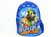 Mickey Mouse  Donald Duck   Goofy  rugzak - Speed roadsters - 2vak