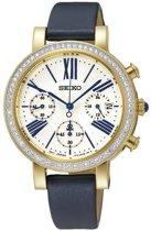 Seiko SRW016P1 - Horloge - 35 mm - Blauw