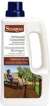 Starwax geconcentreerde reiniger 'Houten Terrassen' 1 L
