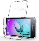 Xssive Hoesje voor Samsung Galaxy Core Prime G360  - Back Cover - TPU Ultra Thin - Transparant