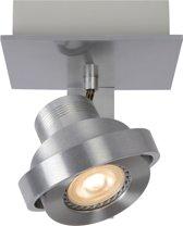 Lucide Landa 1-Lichts Plafondspot - Dimbare LED GU10 - Aluminium