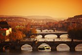 Papermoon Prague Sunrise Vlies Fotobehang 400x260cm 8-Banen