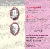 The Romantic Piano Concerto Vol 18 - Korngold, Marx /Hamelin