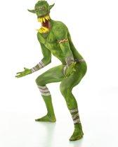 Groene Ork Morphsuits™ kostuum voor volwassenen - Verkleedkleding - large