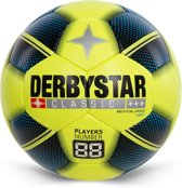 Derbystar VoetbalKinderen - neon geel/zwart