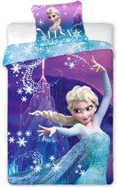 Disney Frozen Power - Dekbedovertrek - Eenpersoons - 140 x 200 cm - Polyester