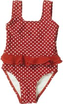 Playshoes badpak rood witte stippen 98/104