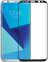Samsung Galaxy S8 (ZWART) glazen screenprotector | Tempered glass | Gehard glas