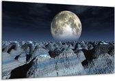 Canvas schilderij Natuur | Wit, Grijs, Zwart | 120x70cm 1Luik