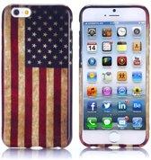 Gel print hoesje iPhone 6 Plus USA flag