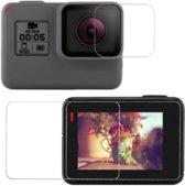 ZFY Hero 5 6 screenprotector Set - Lens Beschermers geschikt voor GoPro Hero 5 6