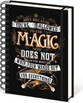 Harry Potter Magic - A5 Ringband Notitieboek