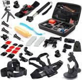 QooQoon Gopro accessoires set 8 - action cam accesoires kit - voor GoPro