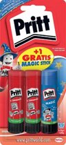 Pritt Stick Original 2x22 gr + GRATIS Magic Stick 20 gr