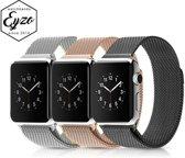 Merkloos Milanees bandje - Apple Watch Series 1/2/3 (38mm) - Zilver