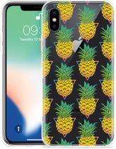 Apple iPhone Xs Hoesje Pineapple