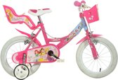 Dino 164r-pss Princess - Kinderfiets - Meisjes - Roze - 16 Inch