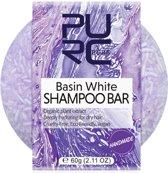 Handmade shampoo bar - Basin white