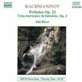Rachmaninov: Preludes Op. 23, Morceaux Op. 3 / Idil Biret