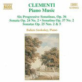 Clementi: Piano Music / Szokolay