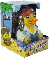 CelebriDucks Captain Quack Mallard, Pirate of the Quackibbean  jack sparrow  11cm  bekendste badeendjes merk uit de USA