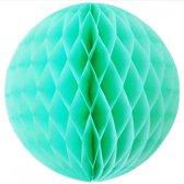 Papieren Honeycombs bol - Mint 20 cm - Unique