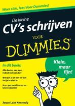 Voor Dummies - De kleine CV's schrijven voor Dummies