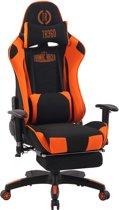 Clp Turbo XFM - Bureaustoel - Stof - zwart/oranje