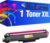 PlatinumSerie® 1 x toner XXL alternatief voor Brother TN-243 TN 247 magenta
